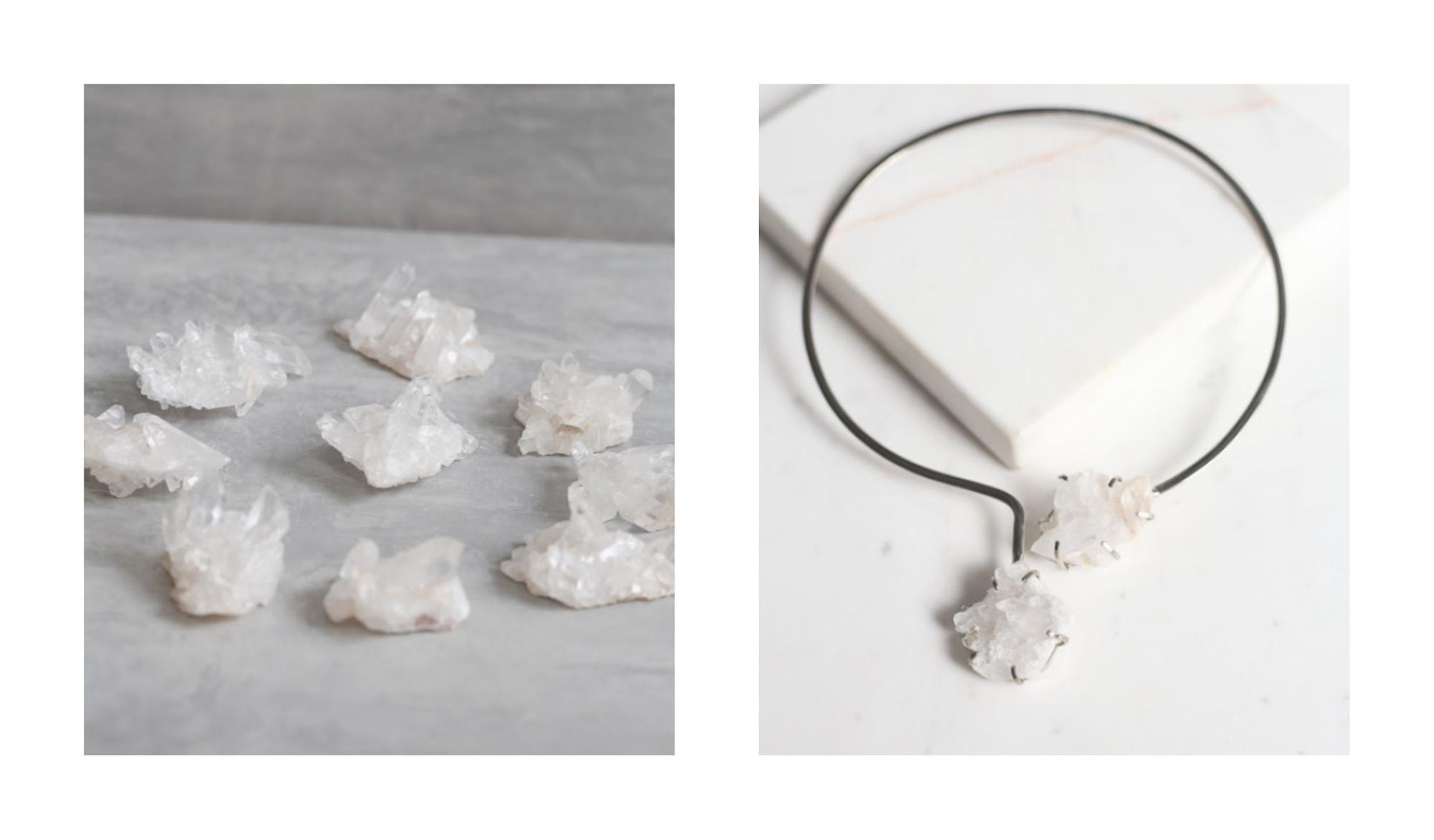 quartzo cristal setimo chakra