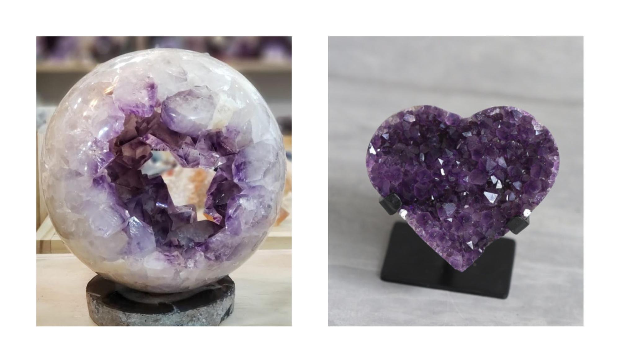 ametista pedra do sexto chakra