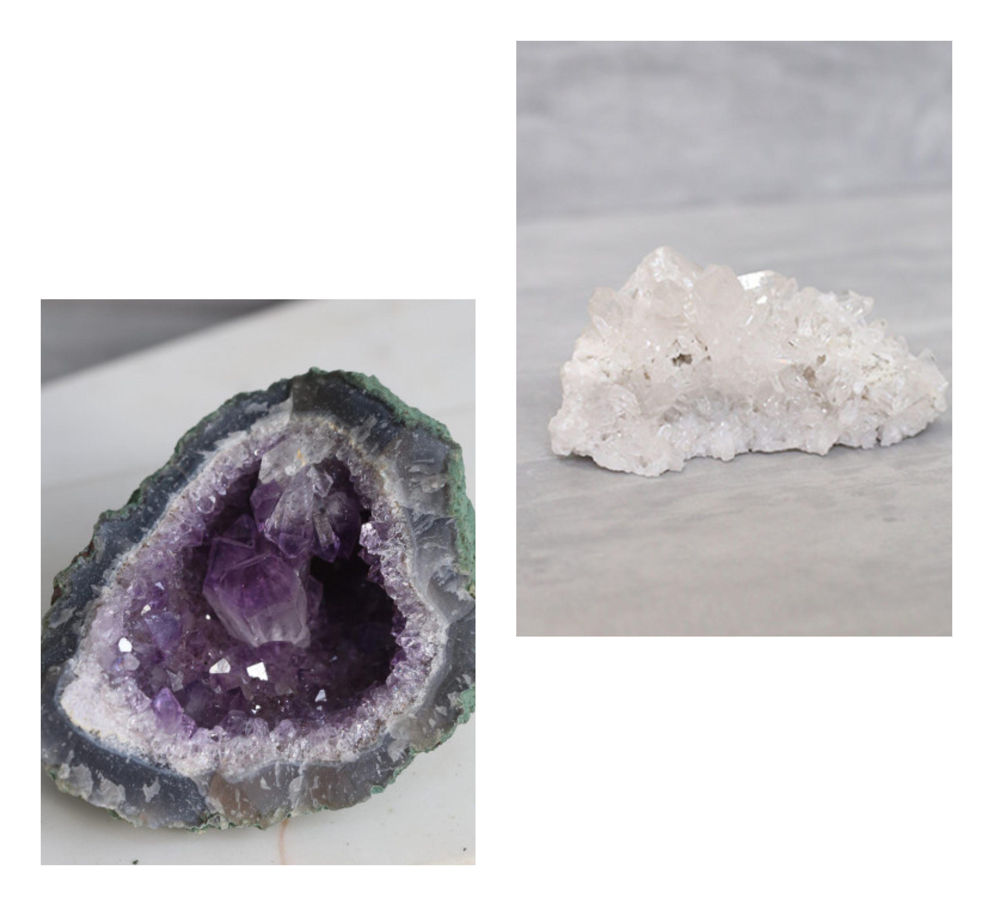drusas como energizar sua pedra e cristal
