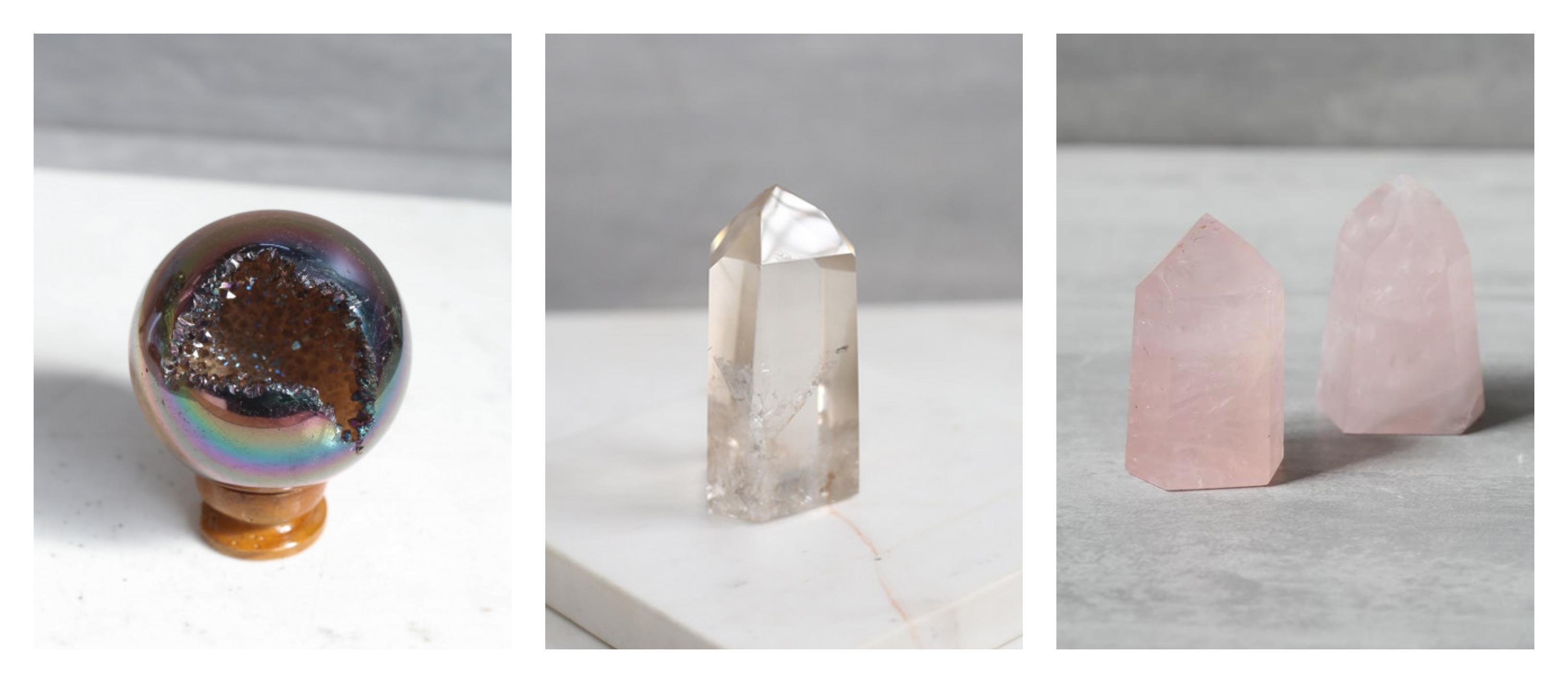 bola ou ponta de cristal shop dos cristais