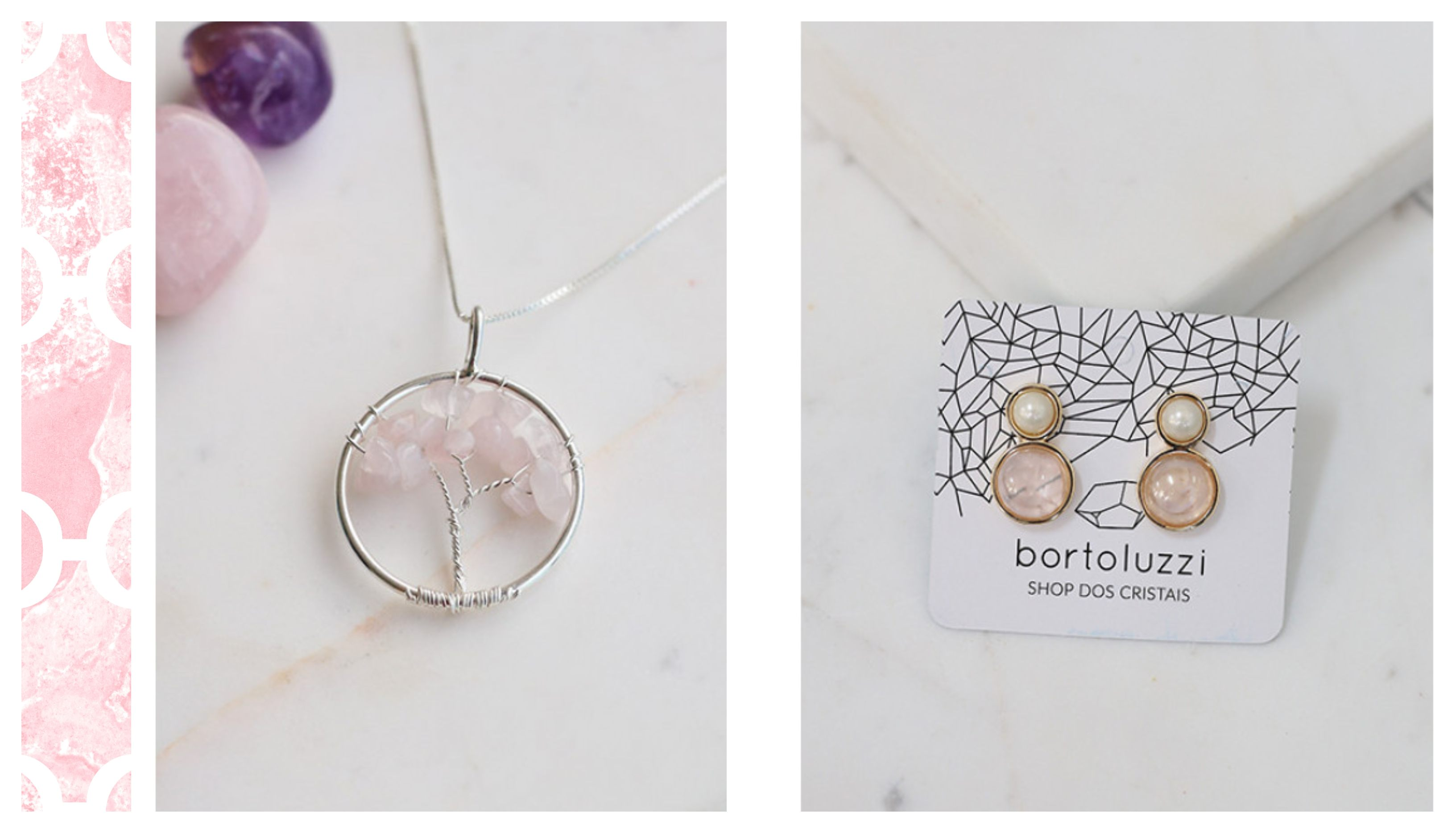 acessorios quartzo rosa shop dos cristais