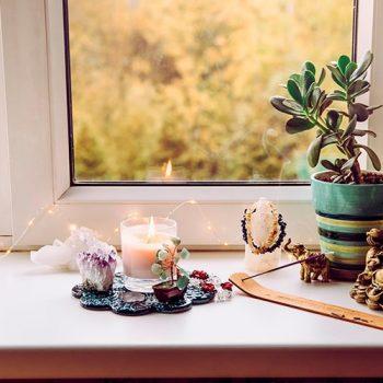 Cristais na decoração: saiba como usá-los em ambientes da casa