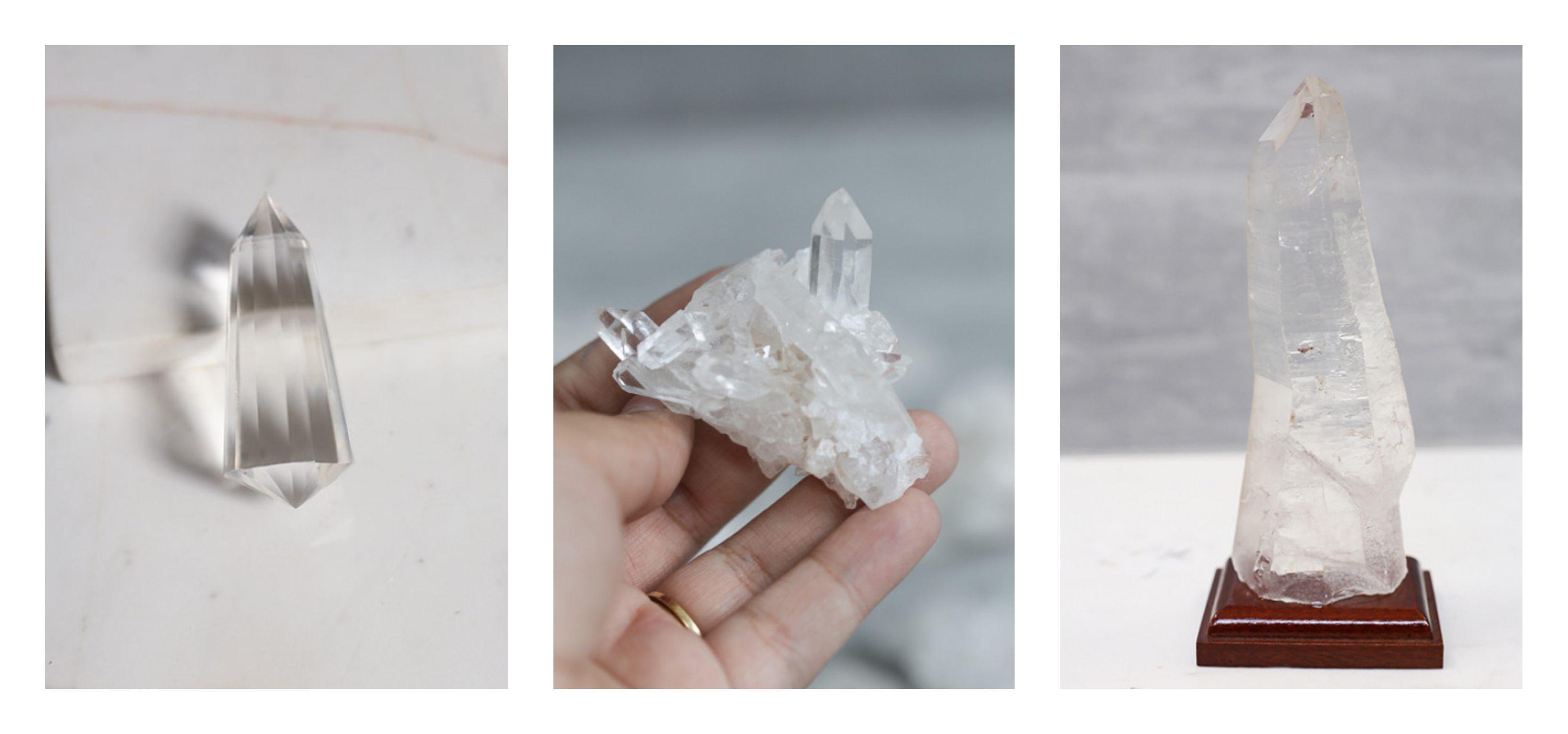quartzo de cristal produtos