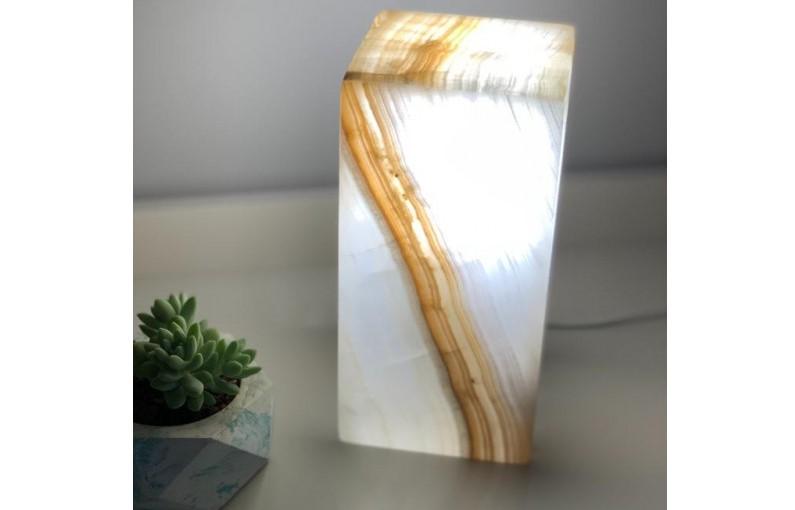 Luminária Ônix Branco