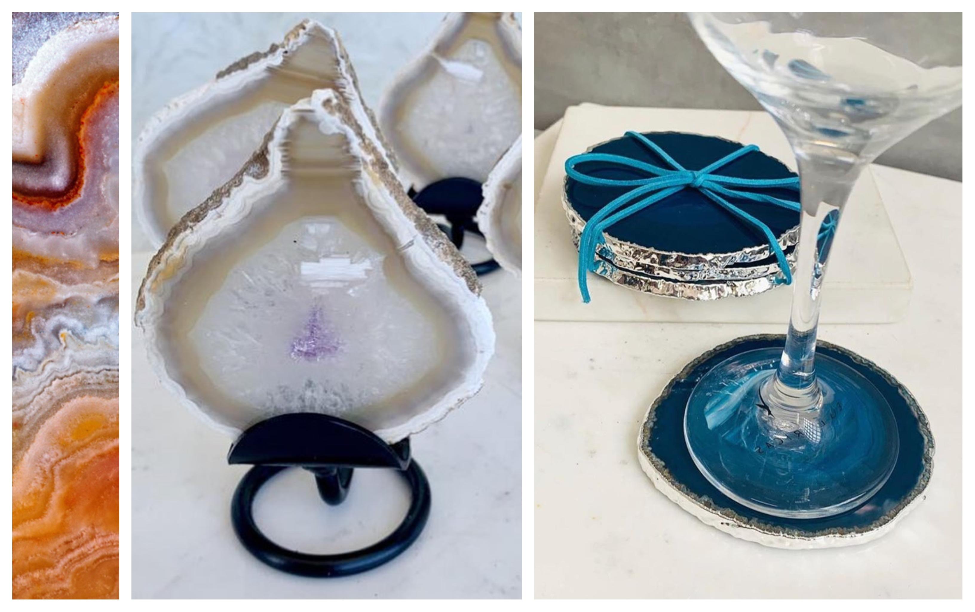 produtos de pedra agata da marca shop dos cristais