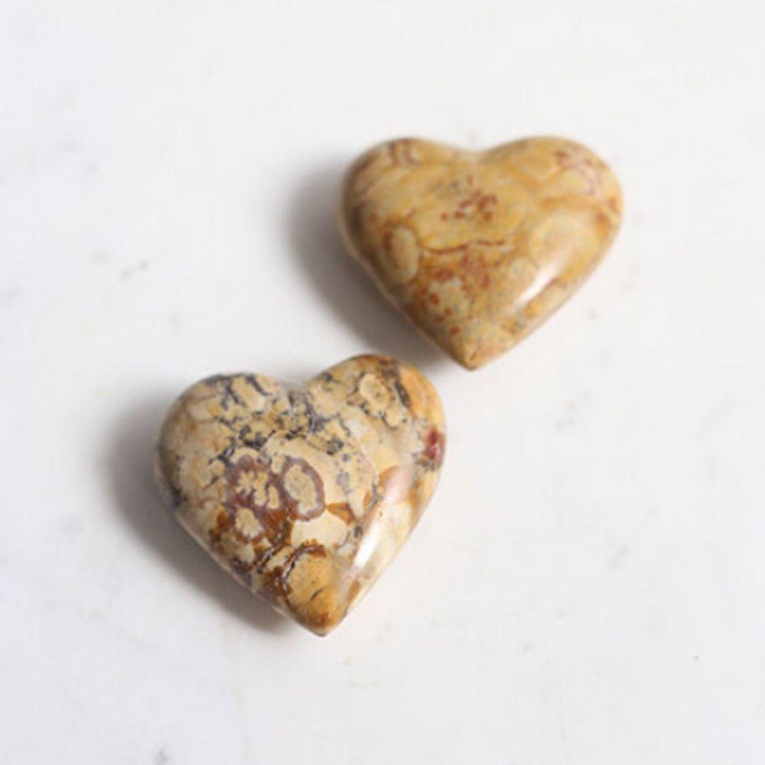 coração de jaspe da marca shop dos cristais