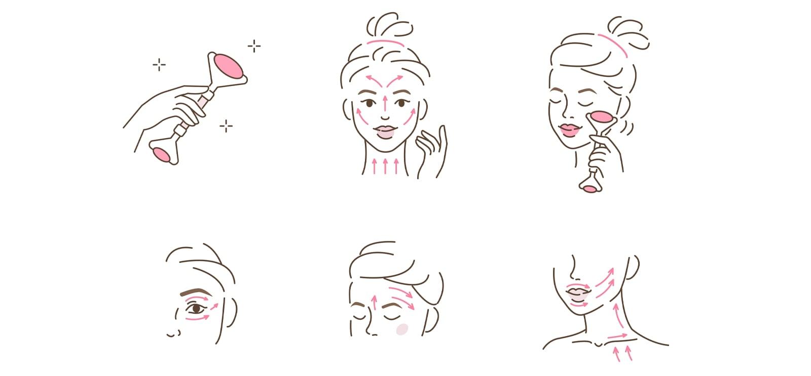como utilizar roller facial
