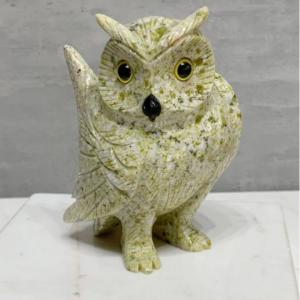 esculturas para decoração coruja
