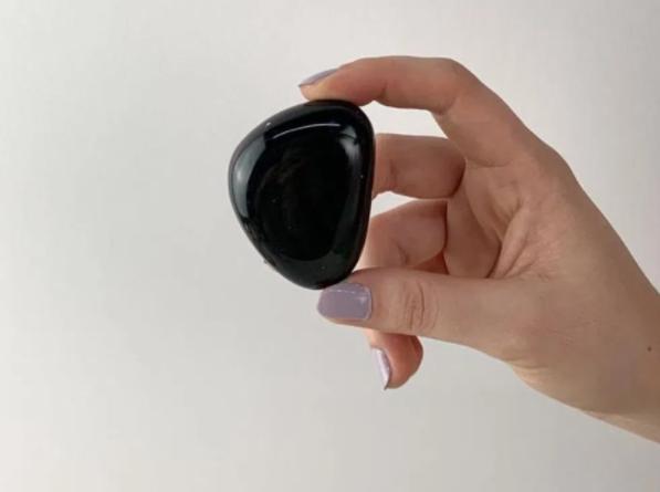 obsidiana negra pedra para meditar
