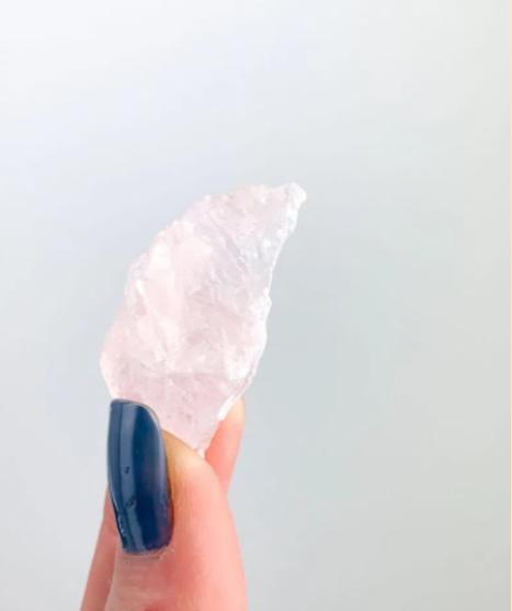 pedras brutas quartzo rosa
